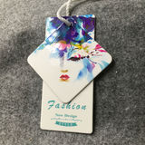 colorful set of hangtag