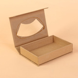 kraft paper box with PVC window