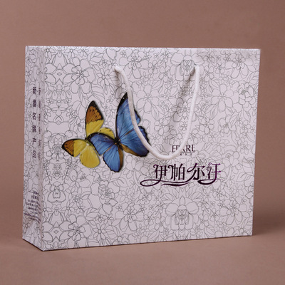 Customized luxury paper shopping bag,Factory hotsell paper bag gift packaging